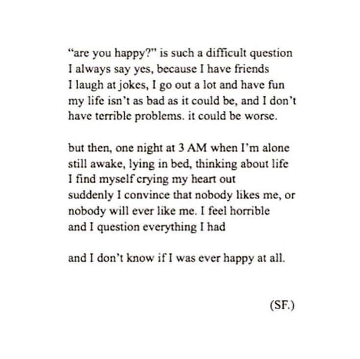 How I feel sometimes.