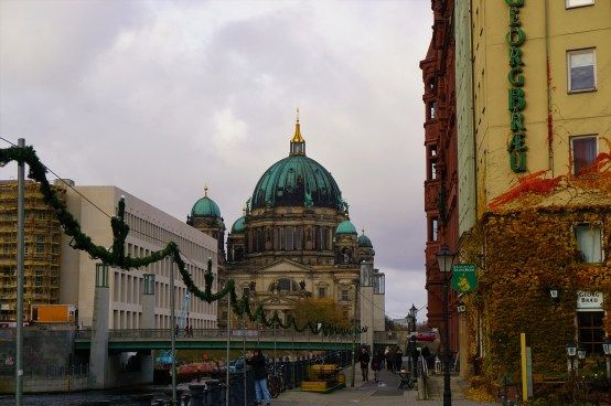 Berliner Dom seen from Spreeufer