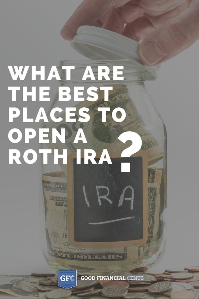 Best places to open a Roth IRA?