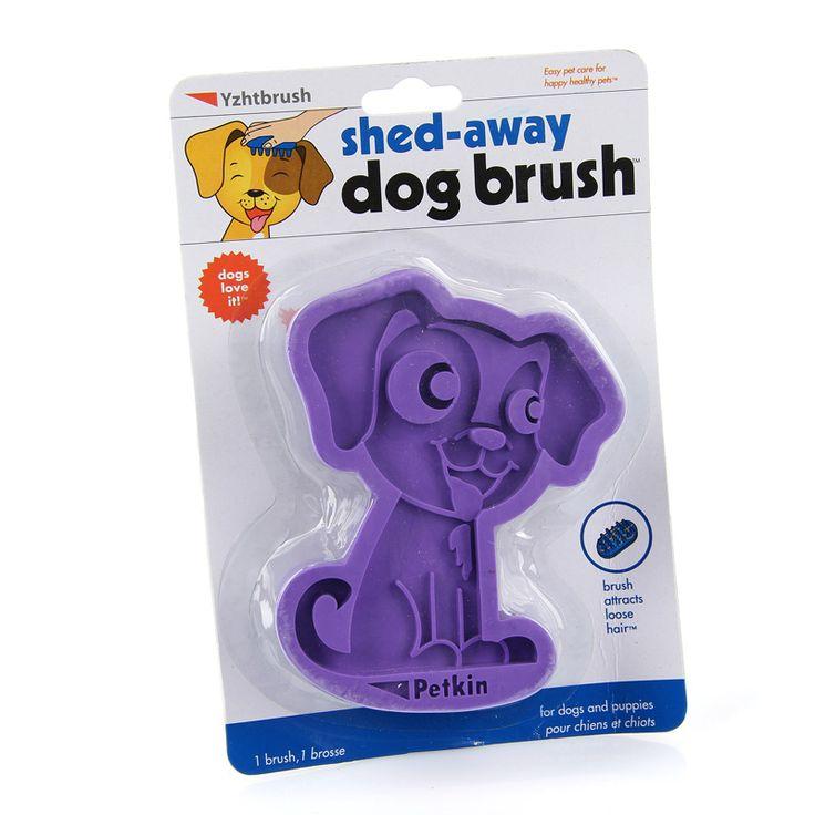 Βούρτσα για σκύλους που βοηθάει να απομακρύνετε τις περιττές τρίχες από το κατοικίδιό σας.  Κατασκευασμένη από καουτσούκ, πολύ μαλακή για να βουρτσίζετε το σκύλο σας με ασφάλεια.