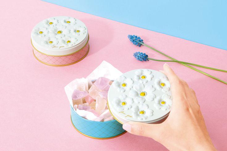 ブーケ缶   お菓子のミカタ