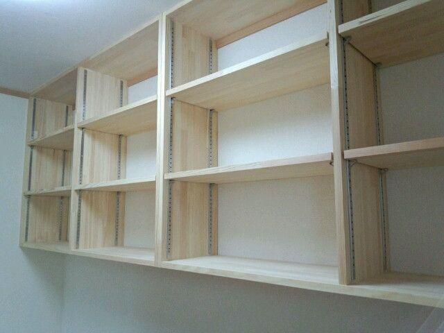 Diyでの棚の作り方 インテリア 収納 リフォーム 収納 棚