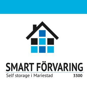 Logotype för företaget Smart Förvaring i Mariestad