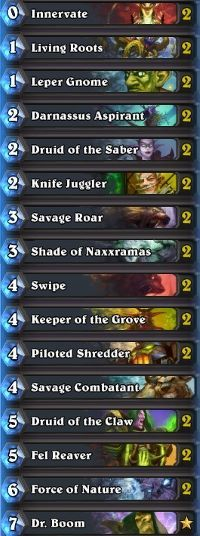 Hearthstone deck guide: Aggro Druid - October 2015 - Hearthstone ~ MetaBomb