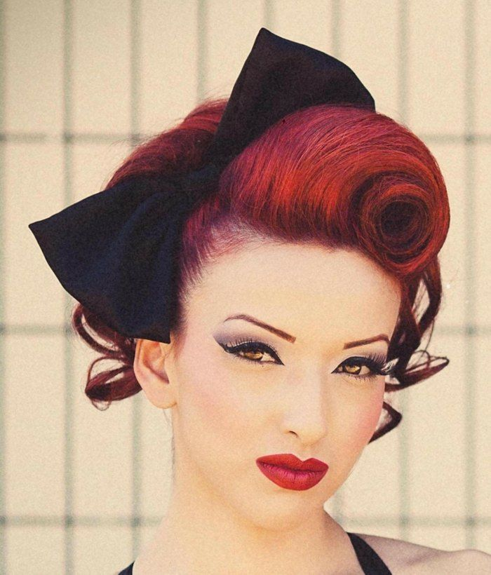 Rockabilly frisur how to