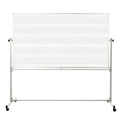 Offex Free-Standing Whiteboard, 4' x 6'