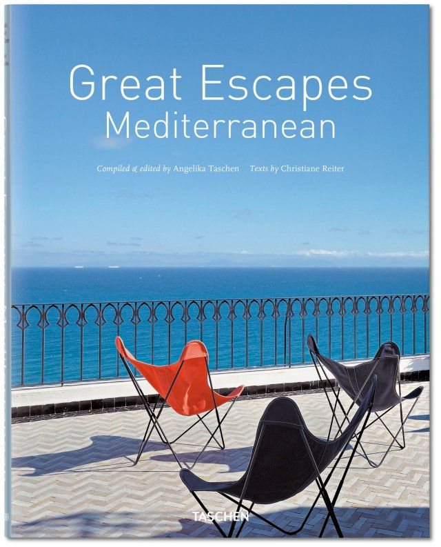 """Voyage over the azure blues of the Mediterranean and find repose along the way in one of the many gems of this refined hotel guide. From charming six-room island hideaways to spectacular Le Corbusier building, this is the ultimate reference for a discerning traveller. """"Wonderful to look at. The only thing that's better is to go there."""" — ELLE, Munich. Published by TASCHEN Books"""