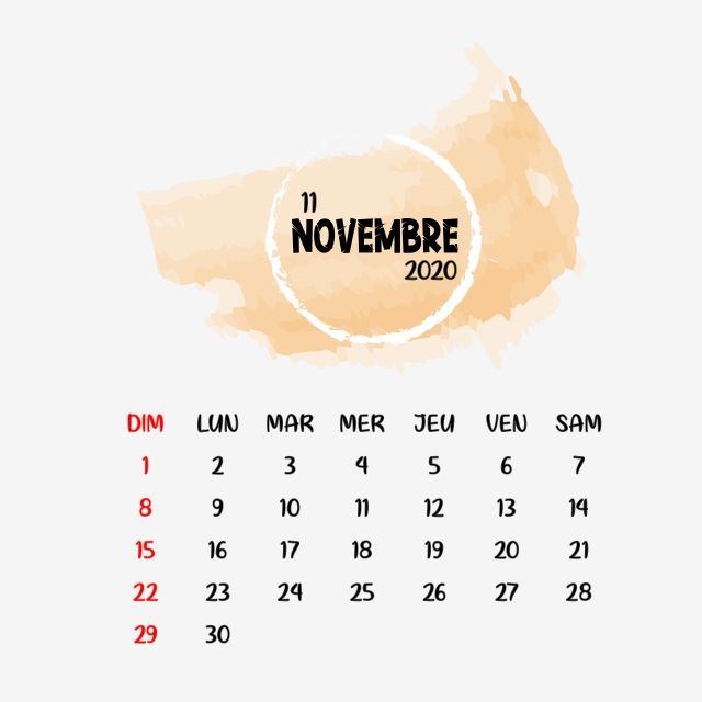 November Frensh Calendar Clipart Png Vector Element November Novembre Calendar Png And Vector With Transparent Background For Free Download Calendar Clipart Clip Art Calendar Png
