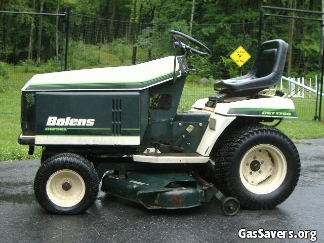 Old Bolens Parts Lookup : Bolens dgt diesel lawn tractor tractors pinterest