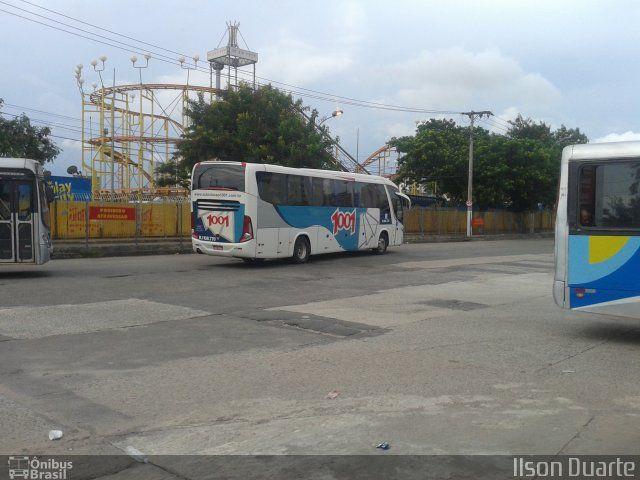 Ônibus da empresa Auto Viação 1001, carro RJ 108.770, carroceria Marcopolo Paradiso G7 1050, chassi Scania K310. Foto na cidade de Niterói-RJ por Ilson Duarte, publicada em 29/08/2016 12:35:01.