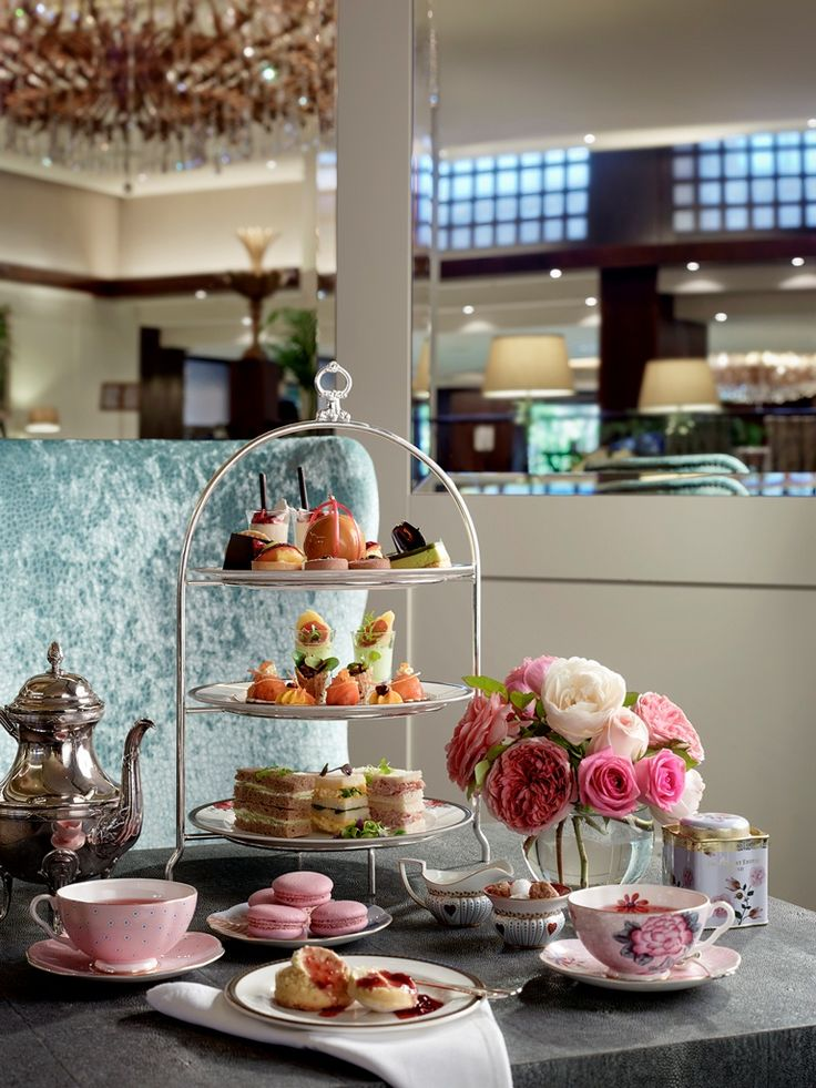 Langham Afternoon Tea with Wedgwood at Palm Court, Langham Auckland #HighTea
