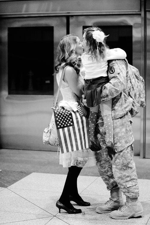 Welcome Home #military #photo