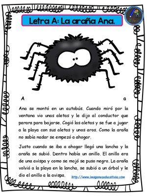 Completa colección de Cuentos para niños y niñas con las letras el abecedario - Imagenes Educativas