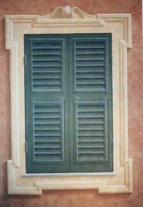 decorazione finestra