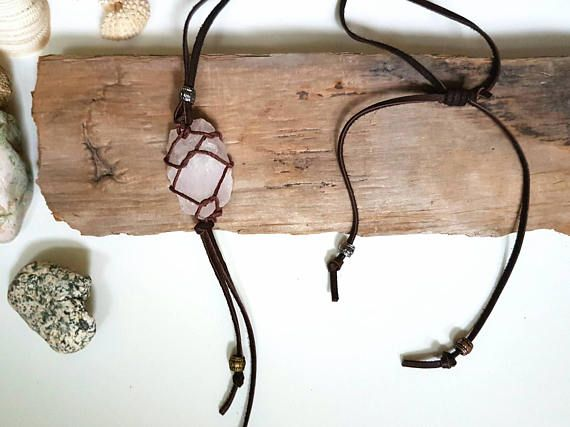 Check out this item in my Etsy shop https://www.etsy.com/ca/listing/527912307/rose-quartz-necklace