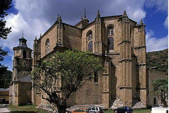 Colegiata de Santa María en Villafranca del Bierzo. | J.M.G.