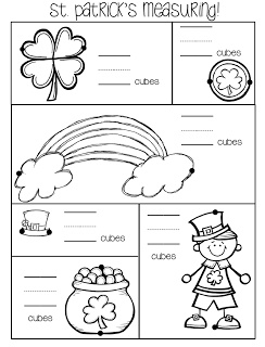 St. Patrick's measuring freebie repinned by Charlotte's Clips
