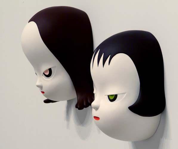 Yoshitomo Nara - his paintings are wonderful too