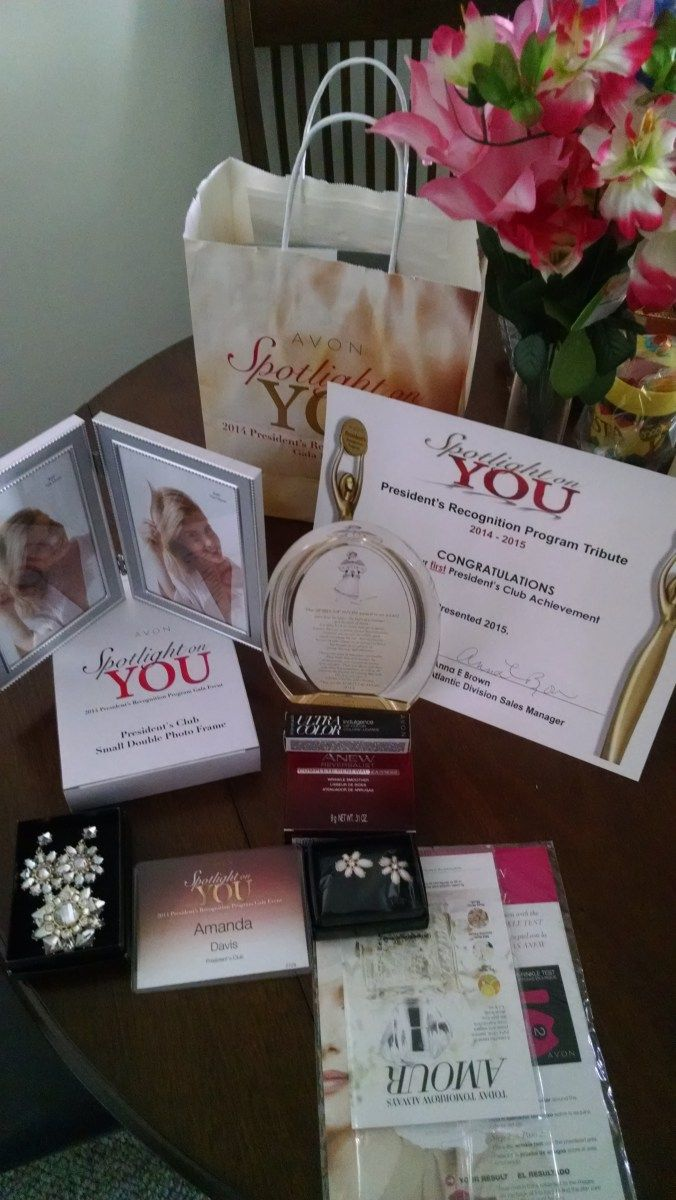 My first PRP Gala experience! To join Avon today go to www.startavon.com and enter reference code: adavis0493