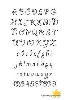 Letras para calcar