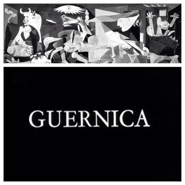 Guernica (1950) directed by #AlainResnais and Robert Hessens. The subject of this short is the joint Nazi/Italian bombing of the Basque town of #Guernica in 1937. The film is highlighted with various paintings, drawings and sculptures by #pablopicasso Mainly his painting by the same name.  Available with subtitles on YouTube.