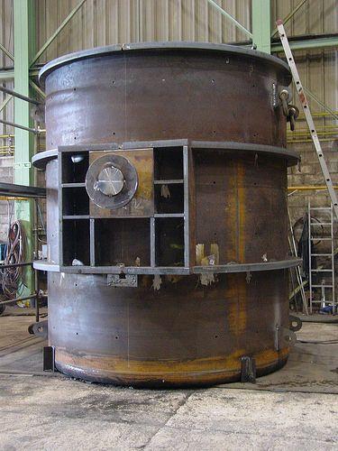 Cucharas Eurogest boilermaking, steel tanks, steel structures