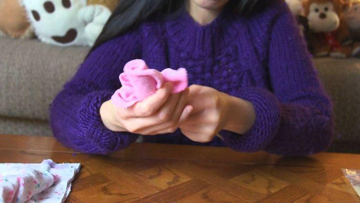 Wash Cloth Flower Bouquet Baby Shower Gift Idea (+lista de reproducción)