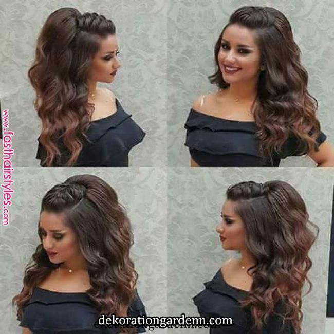 Party Hairstyle For Long Hair Tutorial With Braids Youtube Long Hair Tutorial Hair Tutorial Party Hairstyles For Long Hair