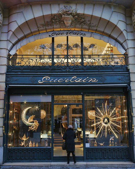 A must when in Paris...stop at the Guerlain store on the Champs Elysées!! A French perfume house, among the oldest in the world.