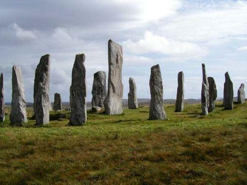 Callanish stone circle, Hebrides.