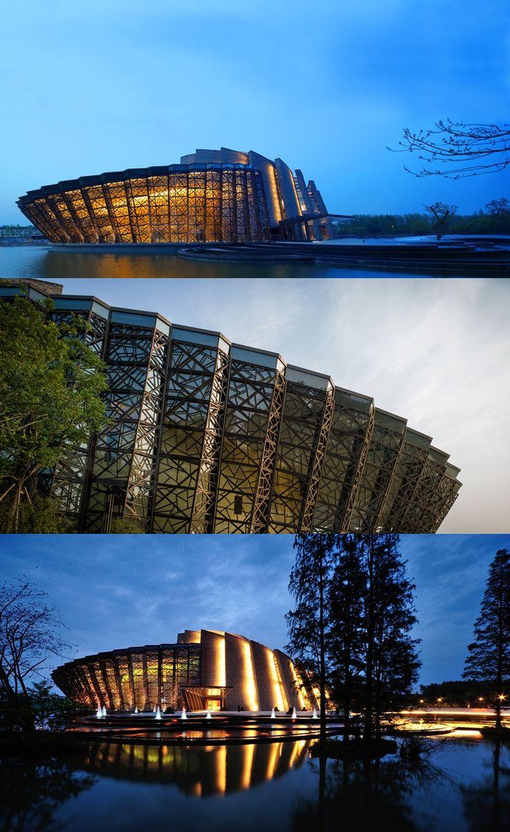Wuzhen Theater - #Zhejiang, #China, #Architecture
