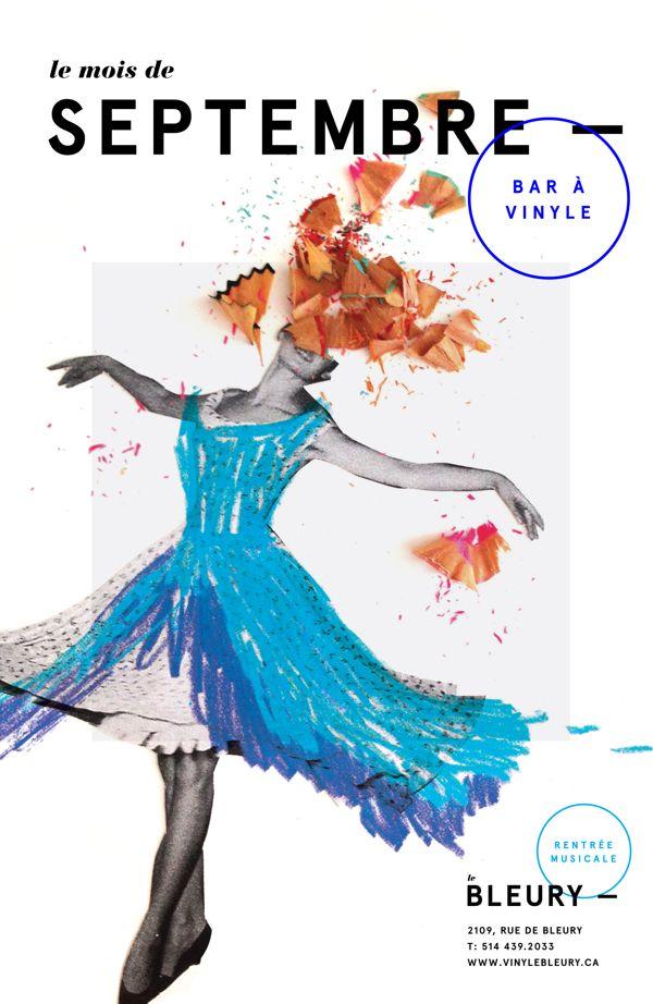 Le Bleury by Elizabeth Laferrière, via Behance
