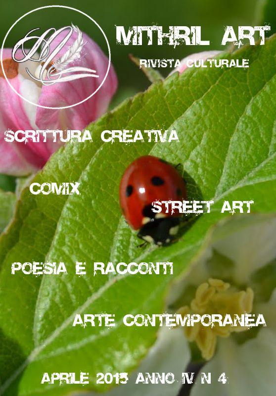 Prima Pagina Aprile 2015 - Mithril ArtMithril Art