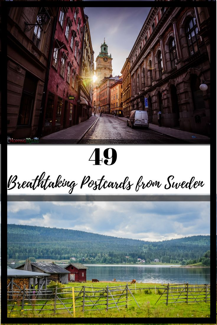Sweden is a country filled with landscapes that are a treat to eyes, where innovation gets a new definition and people add warmth and love into the ever changing weather.