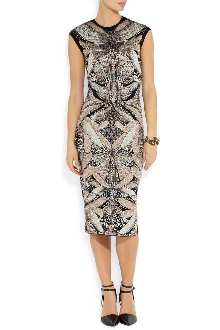 Alexander McQueen | Wool and silk-blend dress