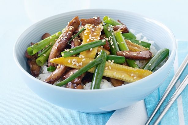 The secret to perfect stir-fries lies in remembering the wok cooks quickly at very high temperatures. All that's required is a quick sizzle, a little shake and a gentle stir for an aromatic Asian feast.