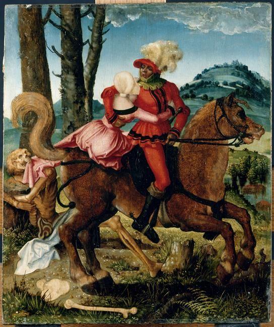 Le chevalier, la jeune fille et la Mort /The Knight,the young girl and the Death. Département des Peintures / Department of Paintings. © RMN / Jean-Gilles Berizzi