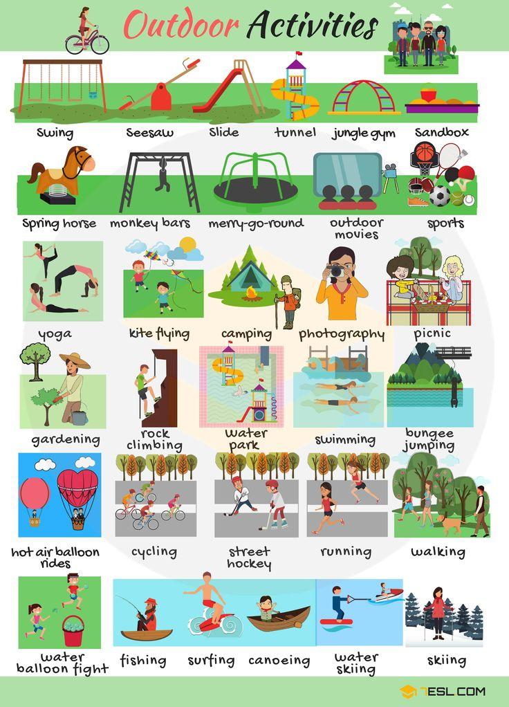 outdoor activities list of outdoor activities with