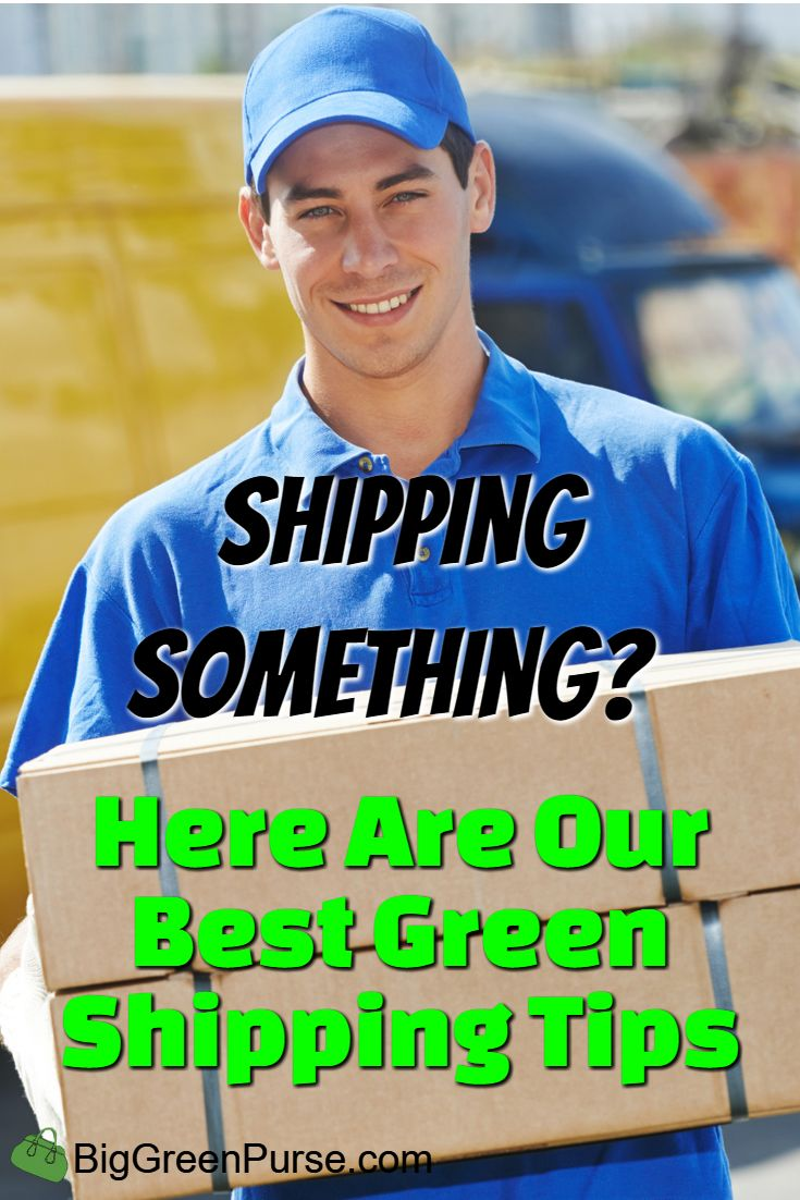 We're partnering with Shiply to offer you our best green shipping tips!
