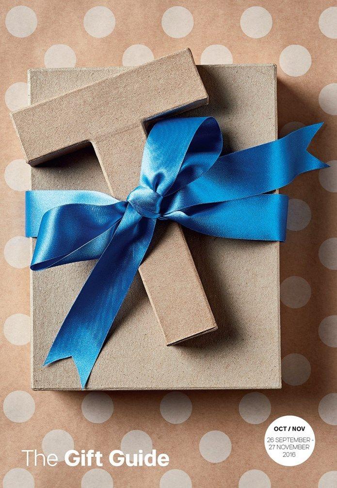The Gift Guide! 26th September - 27th November 2016