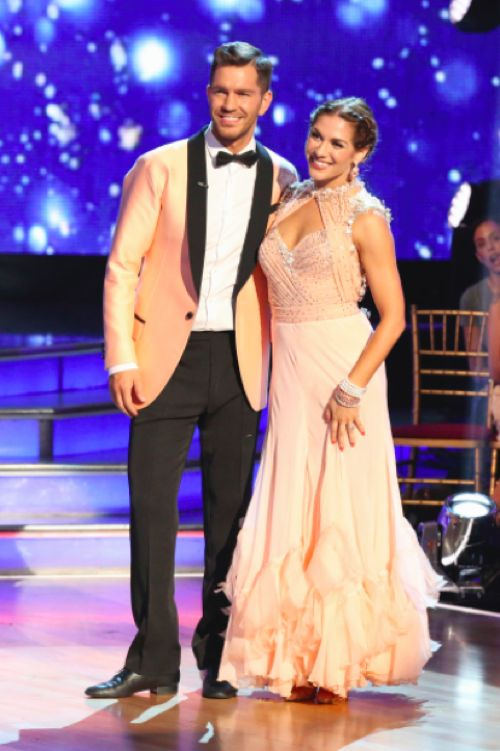 Who did max from dwts dating