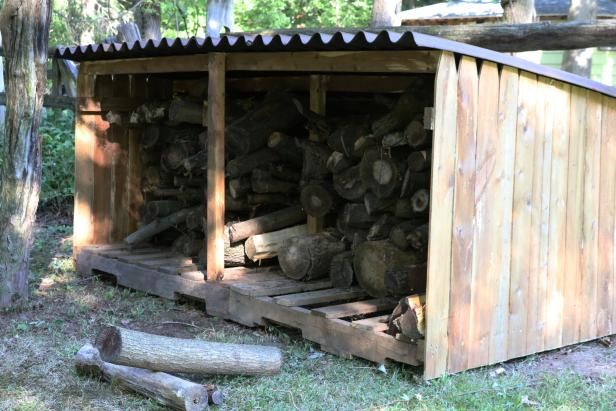 How To Build An Outdoor Firewood Storage Shed Firewood