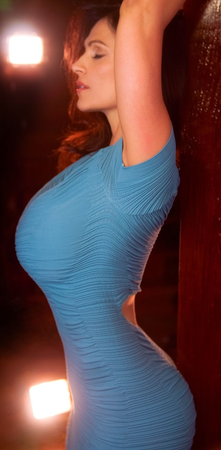 Big Belly In A Tight Dress