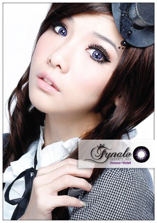 Fynale Lens Honoo Violet
