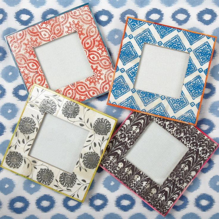 Ikat Photo Frame