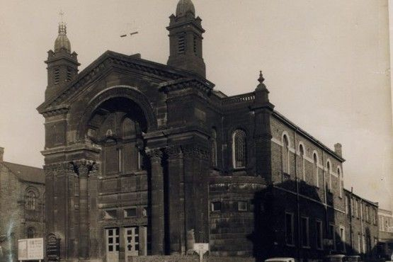 The former Swan Bank Methodist Church