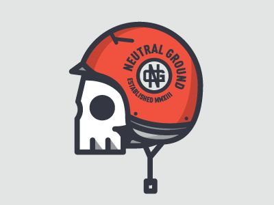 Neutral Ground Skull by Nick Slater