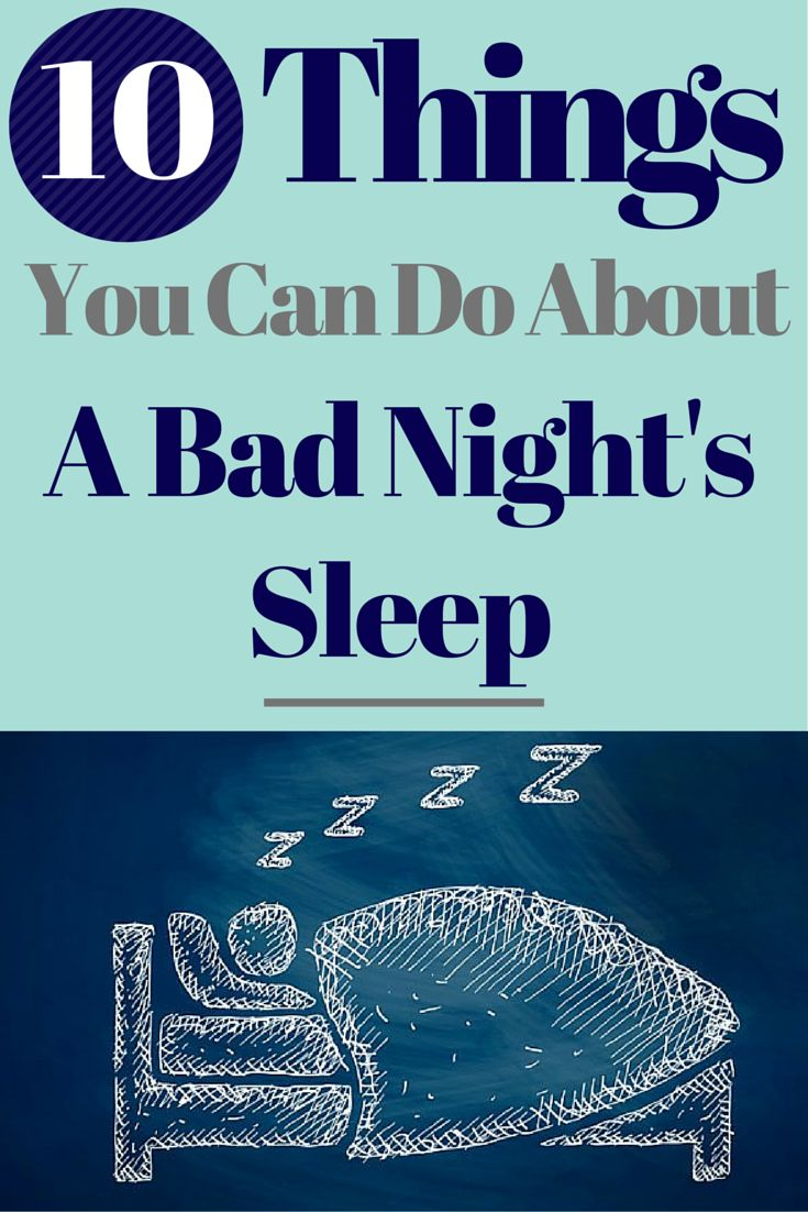 5 things you can do about a bad night's sleep | get some sleep