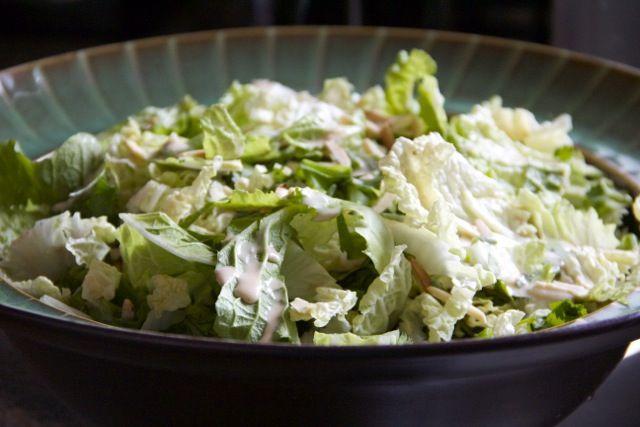 Napa Cabbage Picnic Salad | Vegan food recipes | Pinterest ...