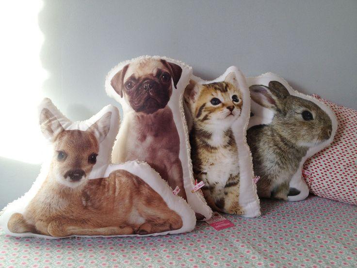 Kissen Mit Haustier Pet Pillow By Herzverliebt Via Dawanda Com Katzen Mops Und Sofa